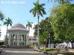 Gazebo at Manzanillo`s Park
