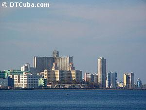 View of the City of Havana from the sea